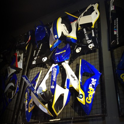 Bmw S1000rr 10-14 Fairing Set (Goldbet)