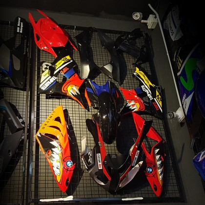 Bmw S1000rr 10-14 Fairing Set (Red Shark)