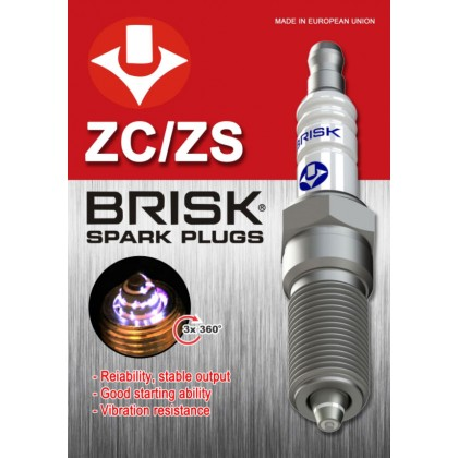 Brisk Premium ZC/ZS Racing Motorcycle Spark Plugs