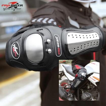 Probiker Knee & Elbow Slider Riding Protective Guard Set