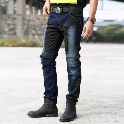 Uglybros UB01 Motorcycle Riding Jeans - Blue