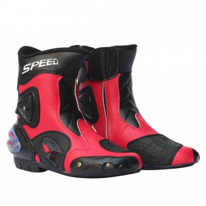 Speed Motorcycle Riding Boots (Half Cut)