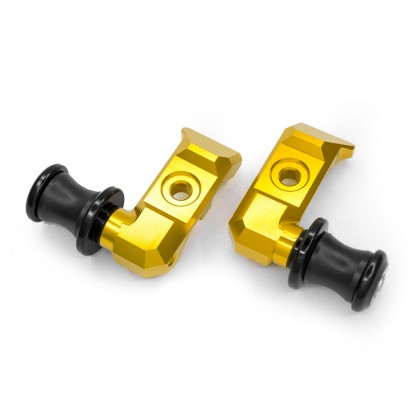 Yamaha Mt07 Chain Adjuster Blocks + Bobbin