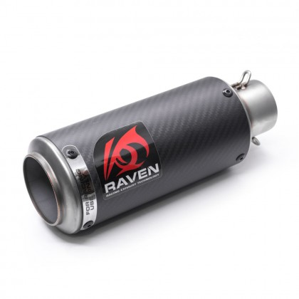 SC Carbon 51m SS Raven Muffler RVM102