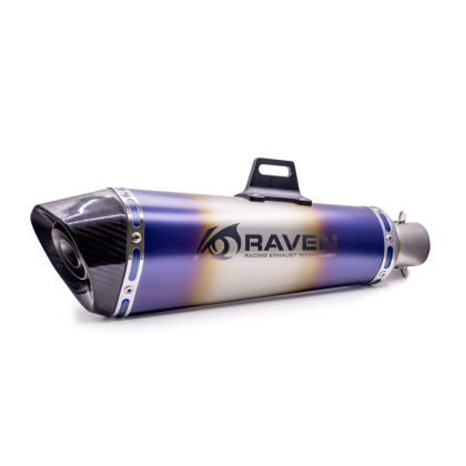 Akra Long Big Blue Raven Muffler RVM219