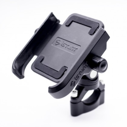 IStunt Motorcycle phone holder (Black)