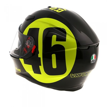 AGV K3 SV Bollo 46 - Black/Yellow