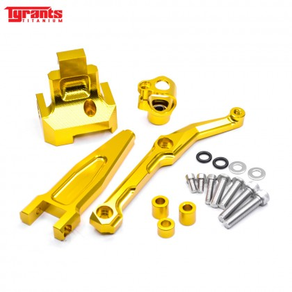 MT09 TRACER TYRANTS DAMPER BRACKET GOLD