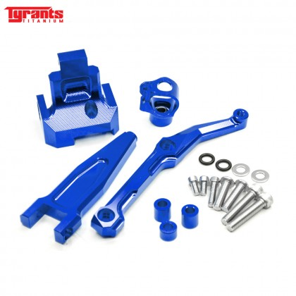 MT09 TRACER TYRANTS DAMPER BRACKET BLUE