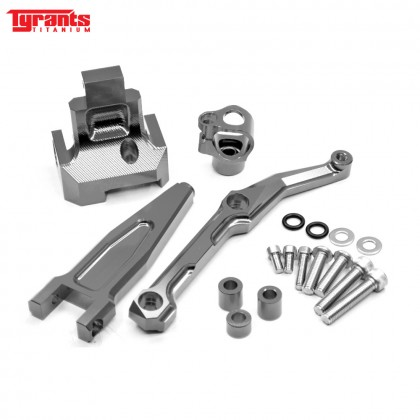MT09 TRACER TYRANTS DAMPER BRACKET GRAY