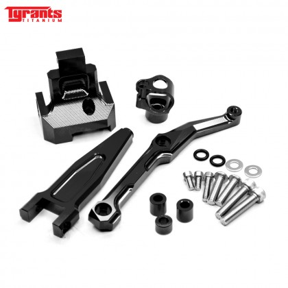MT09 TRACER TYRANTS DAMPER BRACKET BLACK