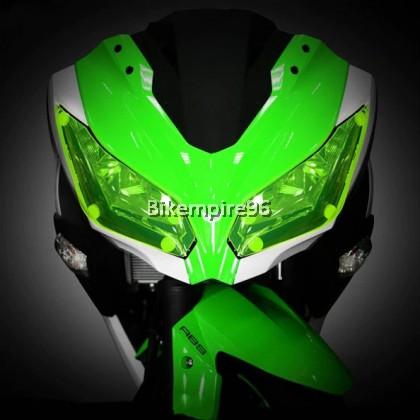 Ninja 250 Headlamp Protector 13-17