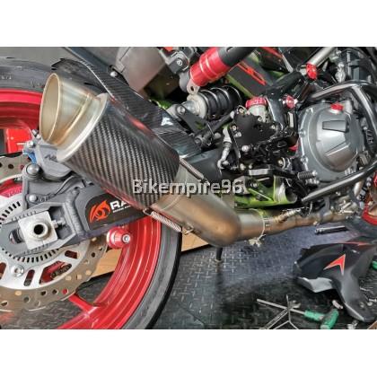 Z900 Header Exhaust Straight 78mm AR Short CBN