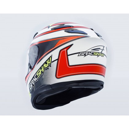 GRACSHAW G9009 GRANDEX RACING WH/RED