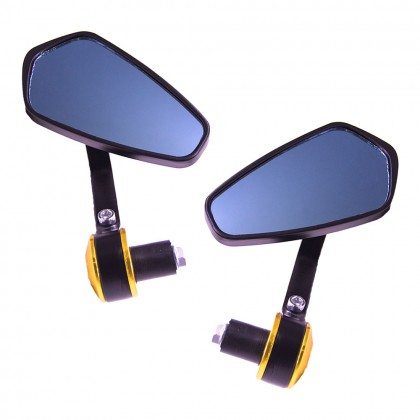 Bar End Side Mirror Long
