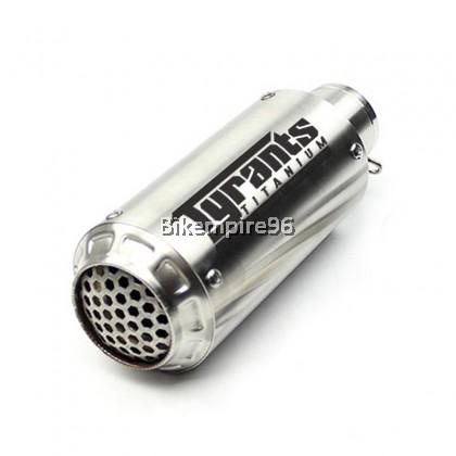 Akra Zero Net 51mm Muffler SS