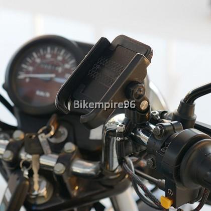 MotoWolf Motorcycle Alloy Phone Holder