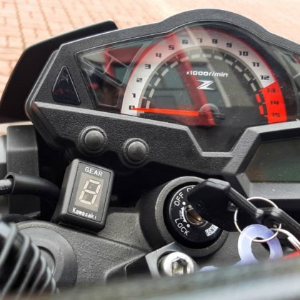 Kawasaki Motorcycle Gear Indicator