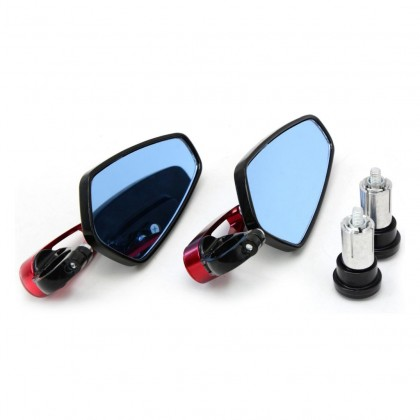 Universal Motorcycle Cnc Bar end Side Mirror Design Be3