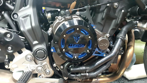 Yamaha Mt07 Engine Guard