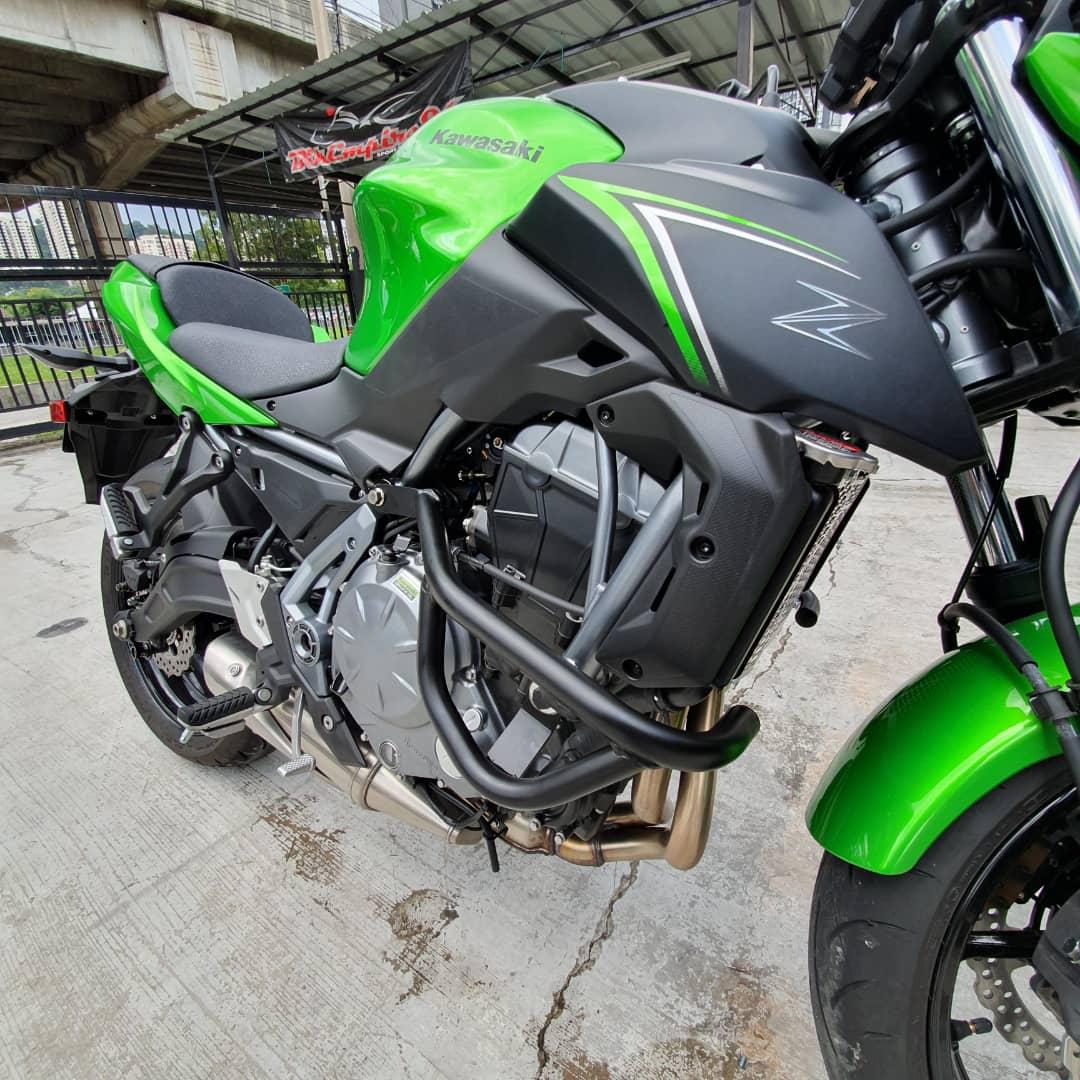 Kawasaki Z650 Engine Crash Bar
